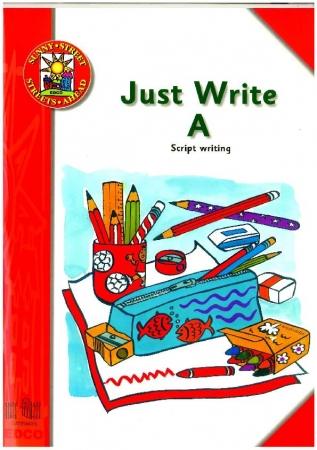 Just Write A: Script Handwriting - Sunny Street - Junior Infants