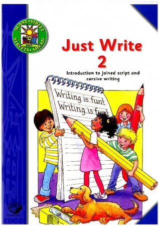 Just Write 2: Introduction To Joined Script & Cursive Writing - Sunny Street - Second Class