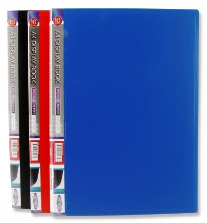 10 Pocket Display Book A4