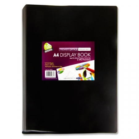 100 Pocket Display Book A4 - Soft Cover