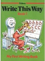 Write This Way 1 - Junior Infants