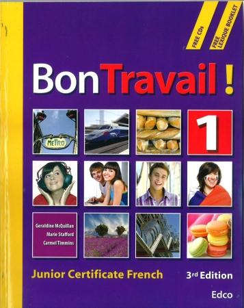 Bon Travail 1 - 3rd Edition - Includes Free eBook