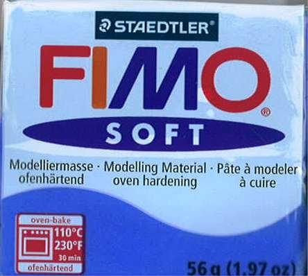 Fimo Soft Brilliant Blue