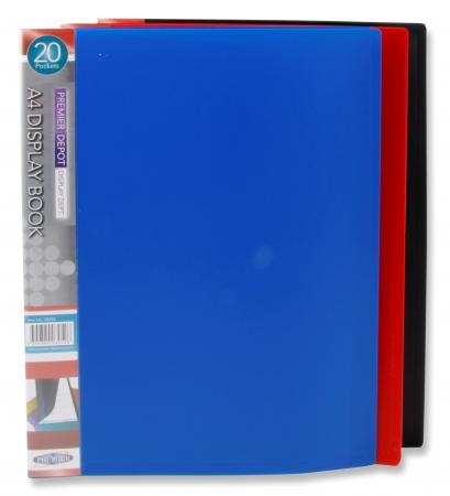 20 Pocket Display Book A4