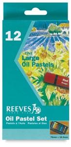 Reeves Oil Pastels 12 Pack