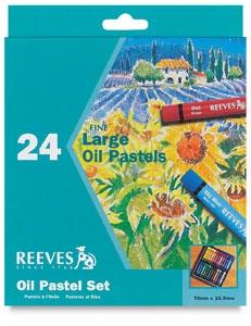 Reeves Oil Pastels 24 Pack