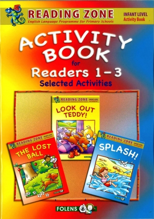 3-In-1 Activity Book For Core Readers 1-3 - Reading Zone - Junior Infants