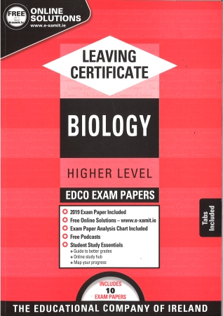 Leaving Cert Biology Higher Level - Includes 2019 Exam Papers