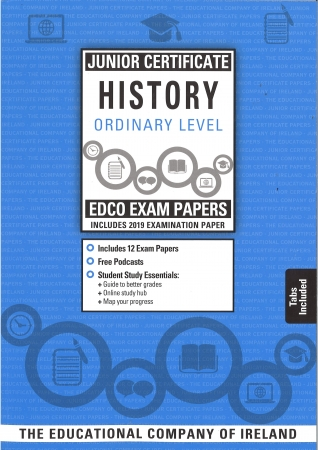 Junior Cert History Ordinary Level - Includes 2019 Exam Papers
