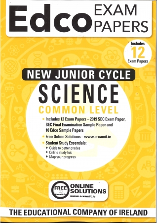 Junior Cycle Science Common Level - Includes 2019 Exam Papers