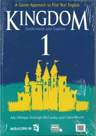 Kingdom 1 - Pack Textbook & Portfolio Junior Cycle English