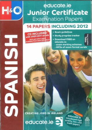 Junior Cert Spanish Higher & Ordinary Level - Includes 2018 Exam Papers