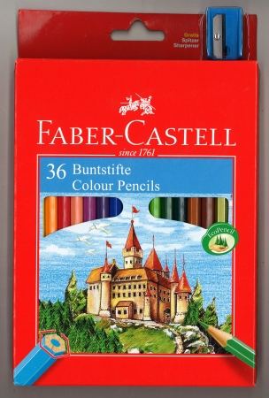 Faber-Castell Colouring Pencils 36 Pack