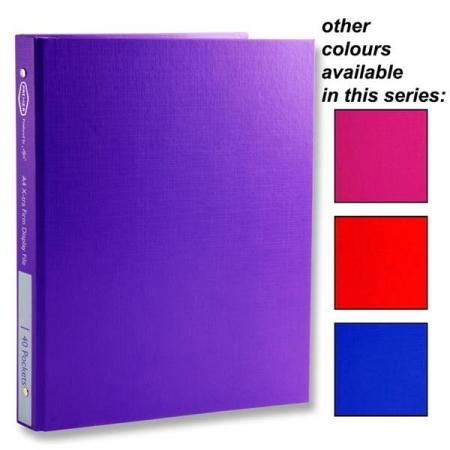 40 Pocket Display Book A4 - Hardback