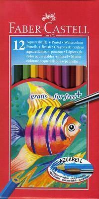 Faber-Castell Watercolour Pencils 12 Pack