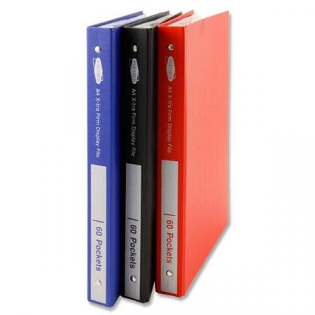 60 Pocket Display Book A4 - Hardback