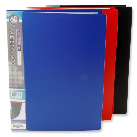 60 Pocket Display Book A4