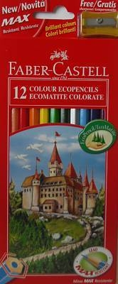 Faber-Castell Colouring Pencils 12PK