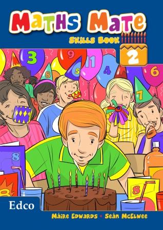 Maths Mate Skills Book 2 - Second Class