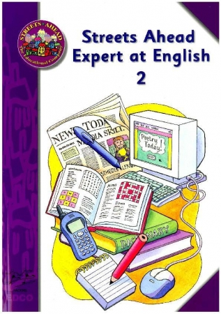 Expert At English 2 - Language Skills Book - Streets Ahead - Fourth Class