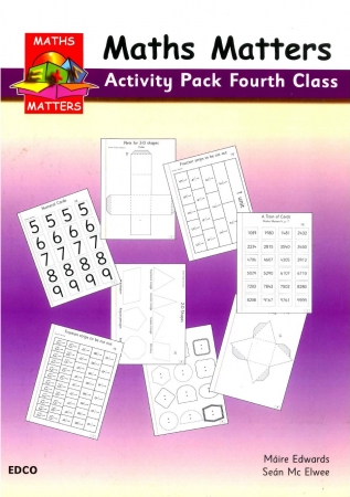 Maths Matters 4 - Pupil's Activity Pack - Fourth Class