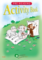 Pre-Reading Activity Book - Magic Emerald - Junior Infants