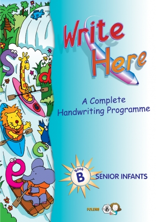 Write Here B - Senior Infants