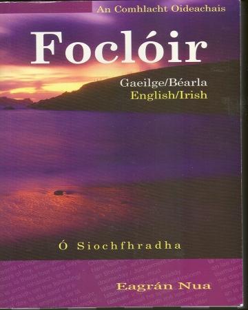 Foclóir - Irish/English-English/Irish