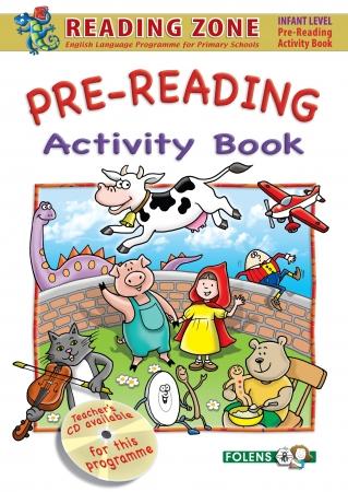 Pre-Reading Activity Book - Reading Zone - Junior Infants