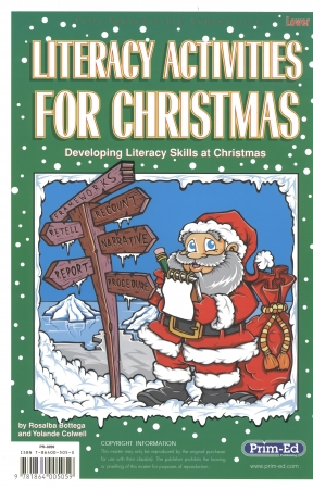 Literacy Activities For Christmas