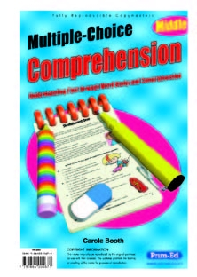 Multiple-Choice Comprehension Middle