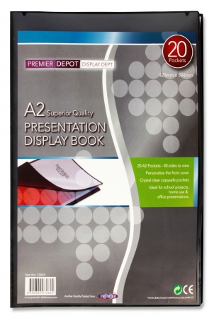 20 Pocket Display Book A2