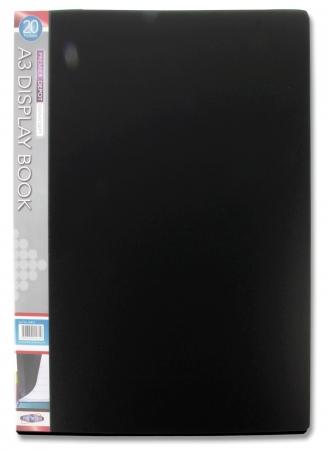 20 Pocket Display Book A3