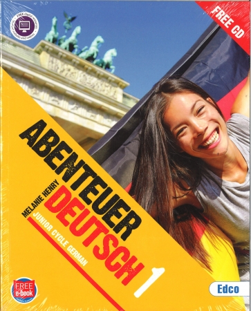 Abenteuer 1 Pack - Textbook & Workbook - Junior Cycle German - Includes Free eBook