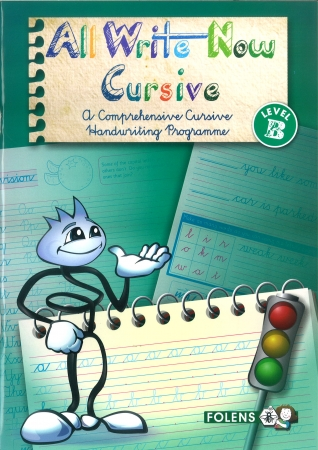 All Write Now B - A Comprehensive Cursive Handwriting Programme - Fourth Class