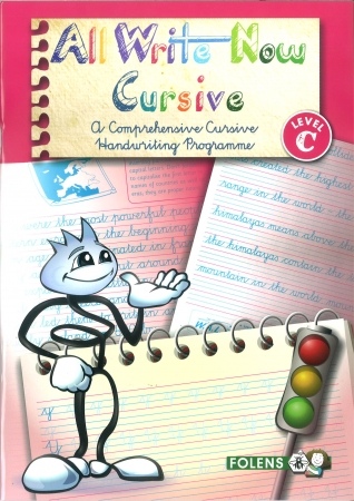 All Write Now C - A Comprehensive Cursive Handwriting Programme - Fifth Class