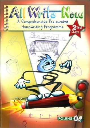 All Write Now 2 - A Comprehensive Pre-Cursive Handwriting Programme - Second Class