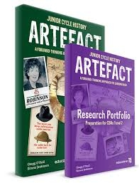 Artefact Pack - Textbook & Research Portfolio Junior Cycle History