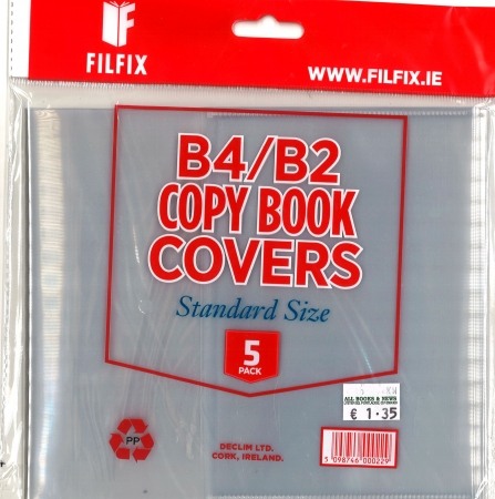 Filfix Copy Covers B4 & B2 - 5 Pack
