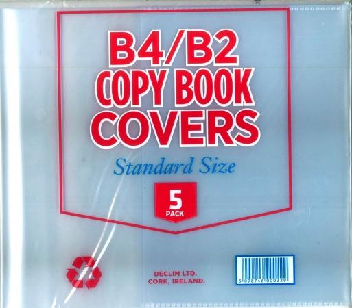 Copy Covers B4 & B2 5 Pack- Filfix Standard Size