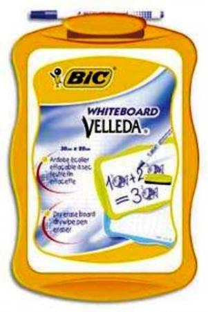 Bic Velleda Whiteboard & Marker 30cmx20cm