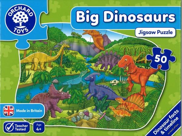 Big Dinosaurs Jigsaw