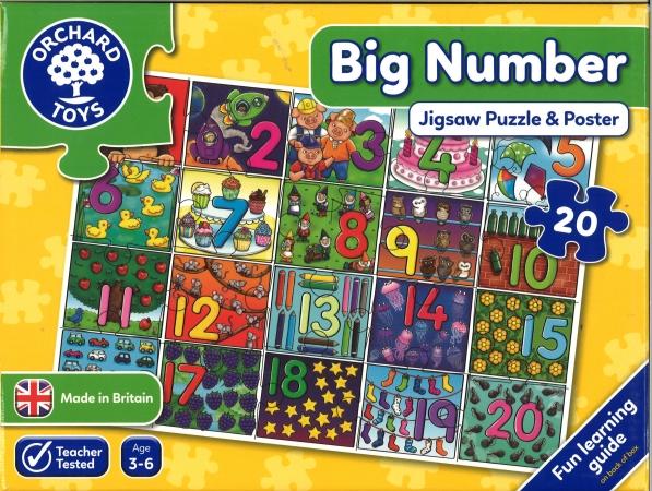 Big Number Jigsaw