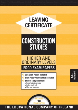 Leaving Cert Construction Studies Higher & Ordinary Levels - Includes 2019 Exam Papers