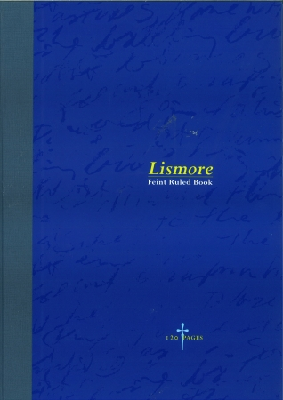 Hardback Copy 9x7 120 Page - Feint Ruled - Blue