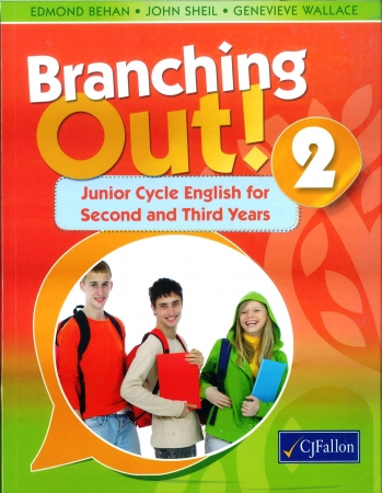 Branching Out 2 Pack - Junior Cycle English For Second & Third Year - Textbook & Response Journal