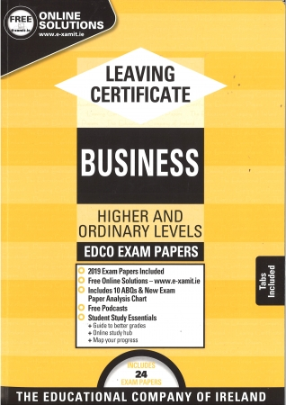 Leaving Cert Business Higher & Ordinary Levels - Includes 2019 Exam Papers