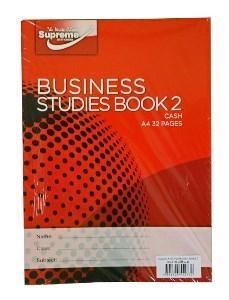 Business Studies Book 2 Cash 40 Page
