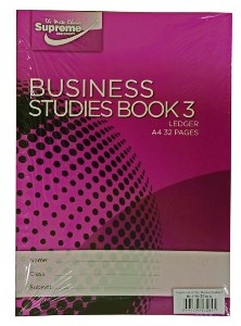 Business Studies Book 3 Ledger 40 Page