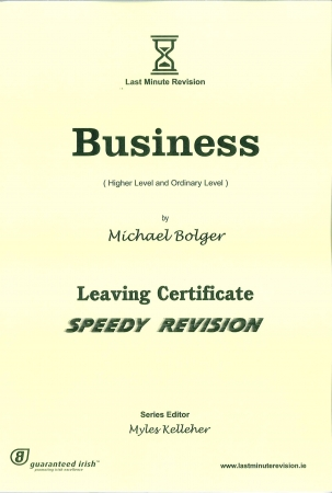 Last Minute Revision LC Business - Higher & Ordinary Level